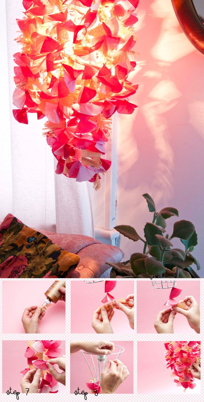 Inexpensive, Colorful and Simple Room DIYs